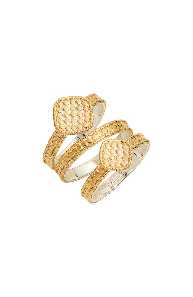 ANNA BECK Set of 3 Cushion Stacking Rings, Main, color, 711