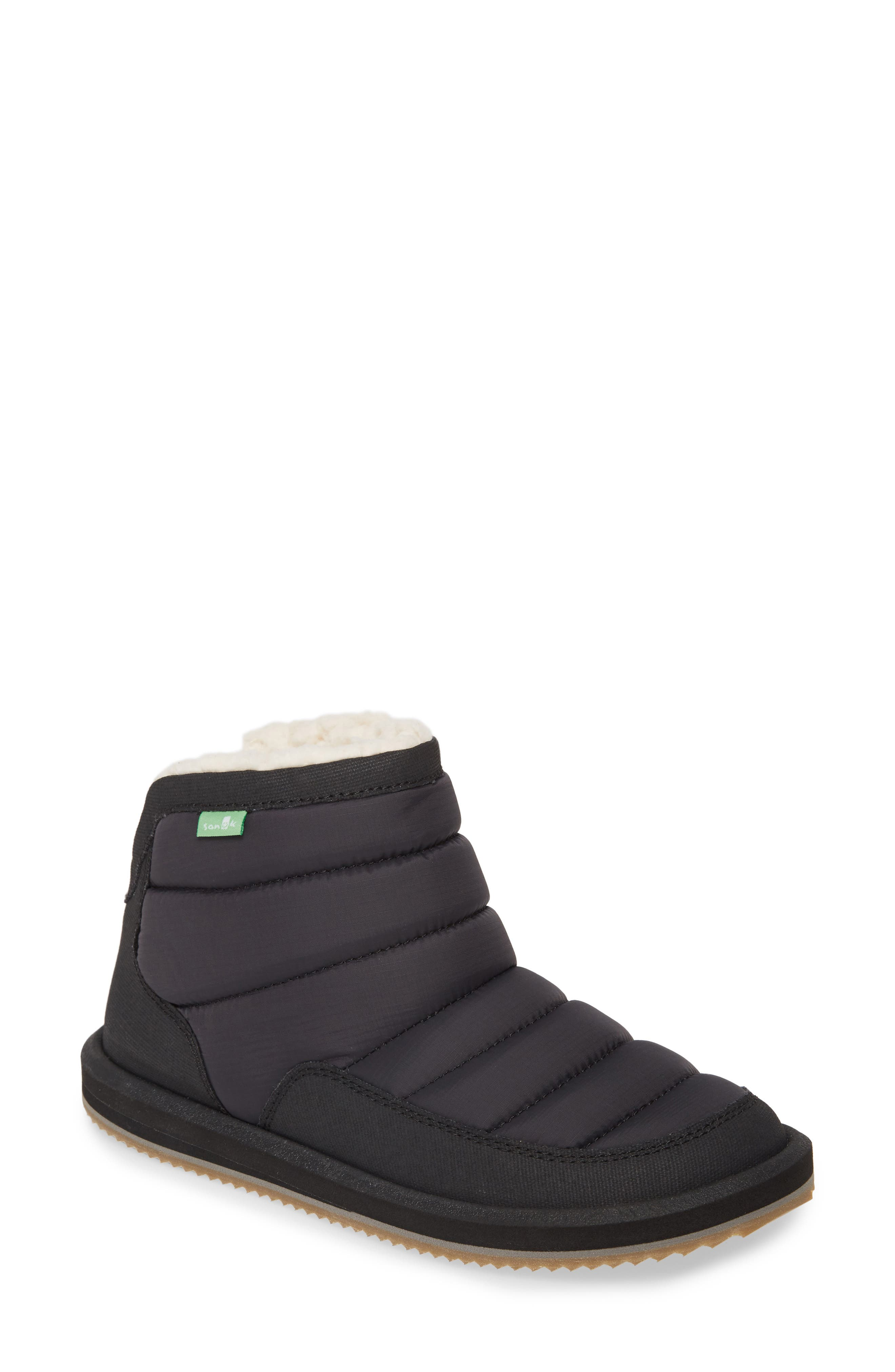 Sanuk Puff N Chill Boot, Black