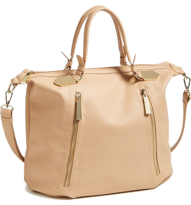 BP. Zip Detail Slouchy Satchel, Main, color, 235