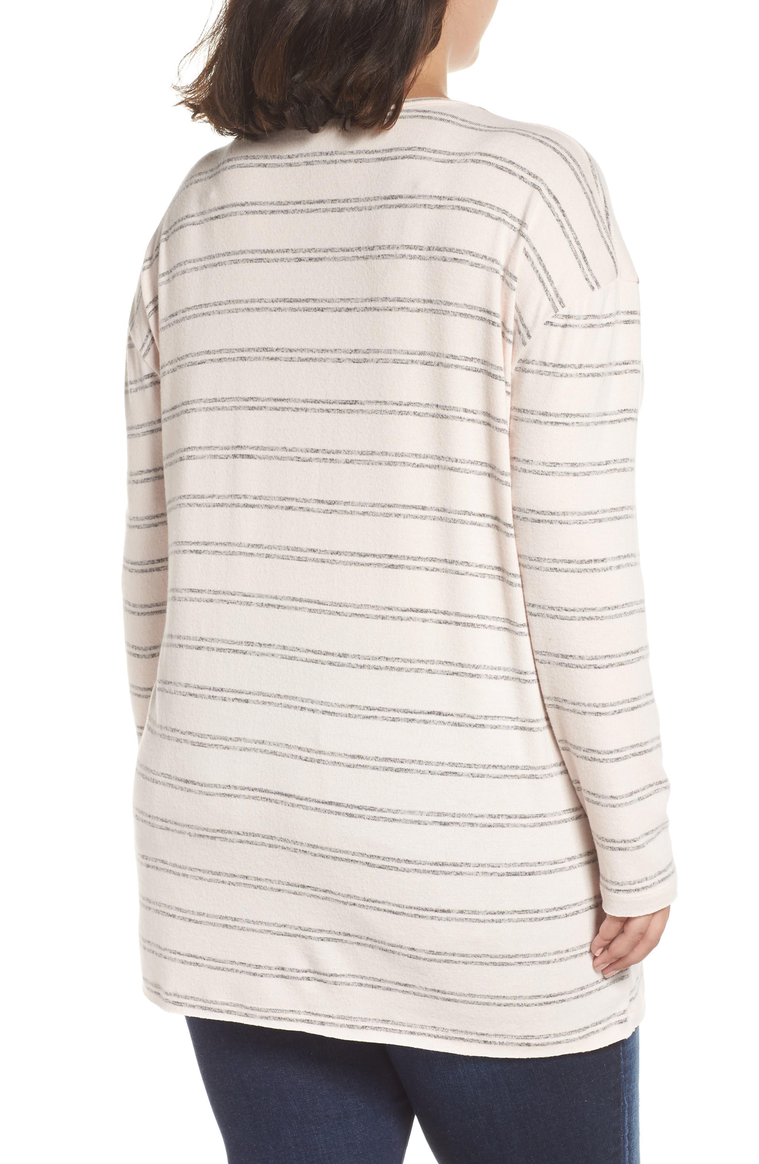 ,                             Cozy V-Neck Sweater,                             Alternate thumbnail 21, color,                             660