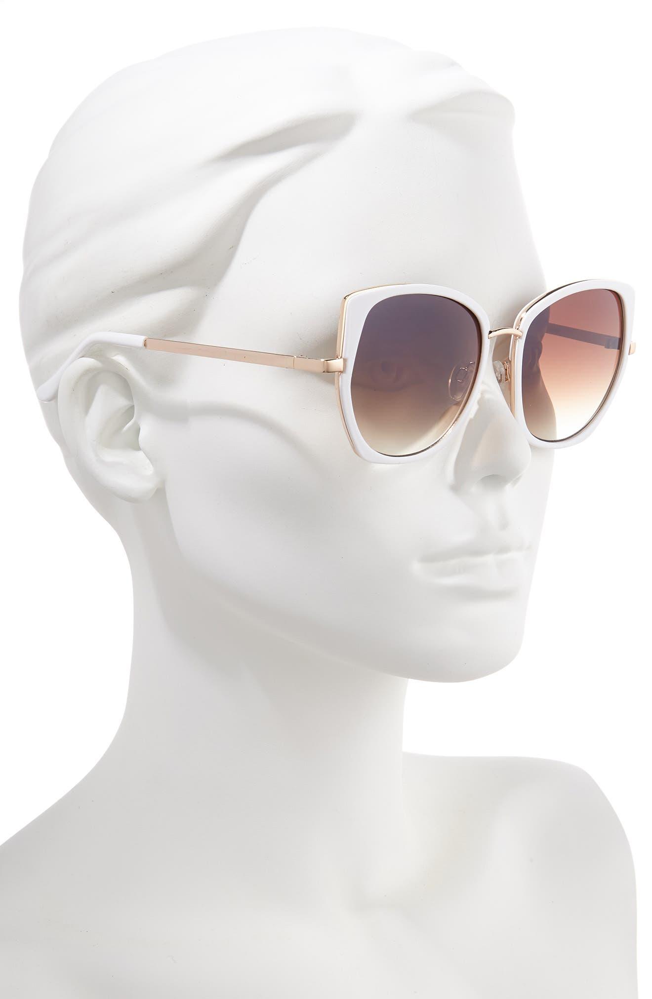 ,                             Leith 60mm Square Sunglasses,                             Alternate thumbnail 2, color,                             110