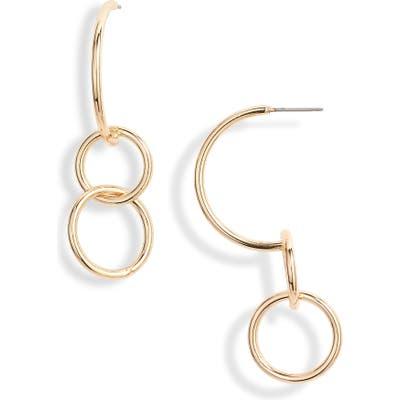 Halogen Orbital Drop Earrings