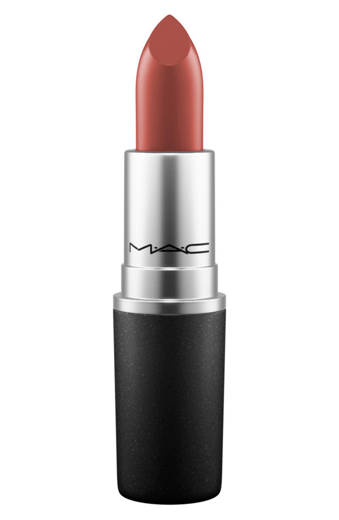 ,                             MAC Strip Down Nude Lipstick,                             Main thumbnail 170, color,                             208