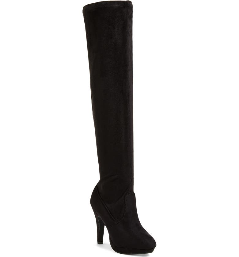 REPORT SIGNATURE REPORT 'Nadya' Over The Knee Boot, Main, color, 001