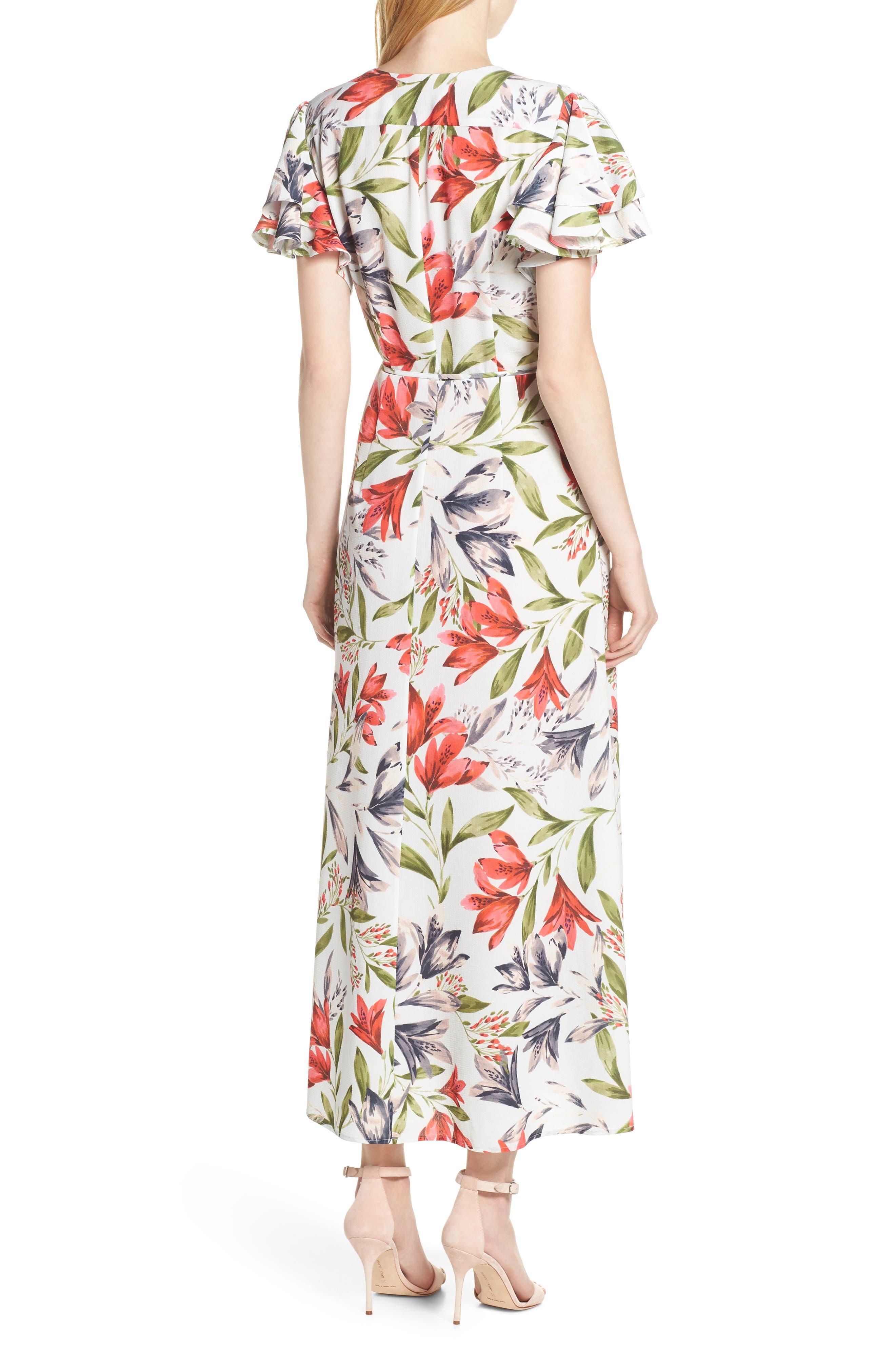 ,                             Cadencia Cari Floral Maxi Dress,                             Alternate thumbnail 2, color,                             LIGHT DREAM BLUE MULTI
