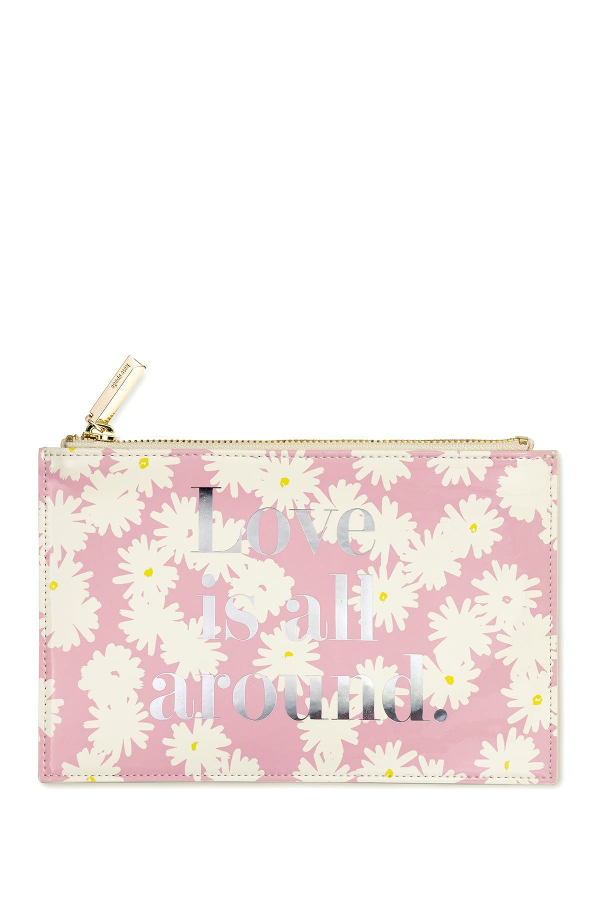 Image of kate spade new york bridal pencil pouch, love is all around