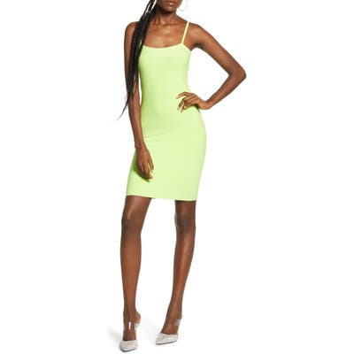 Leith Bandage Minidress, Green