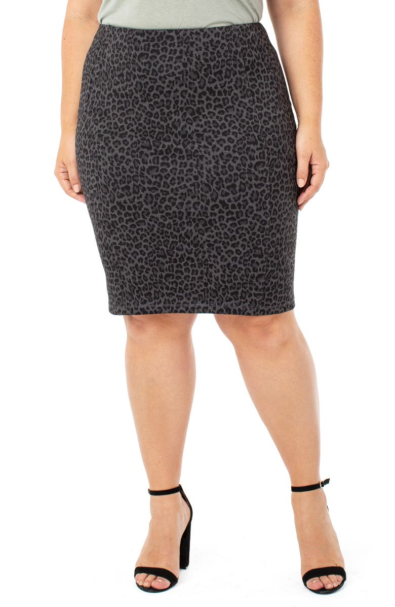 LIVERPOOL Reese Pencil Skirt, Main, color, 001