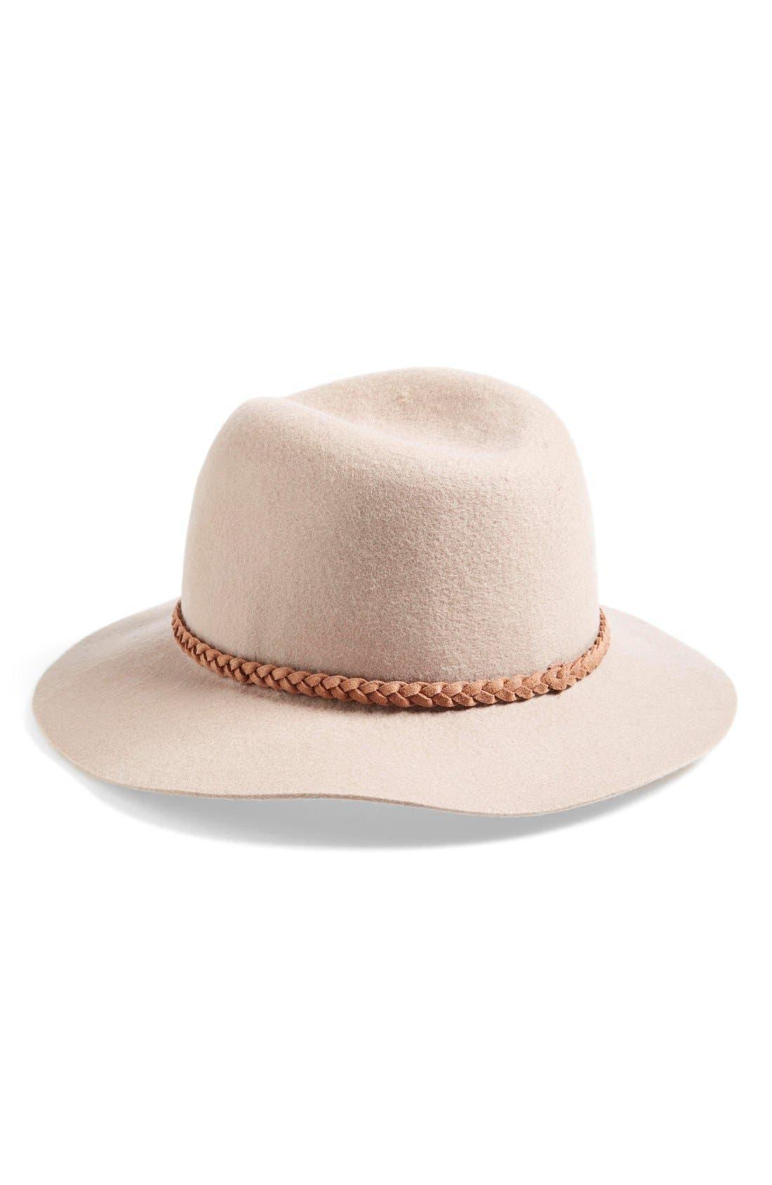 ,                             Felt Panama Hat,                             Main thumbnail 14, color,                             021
