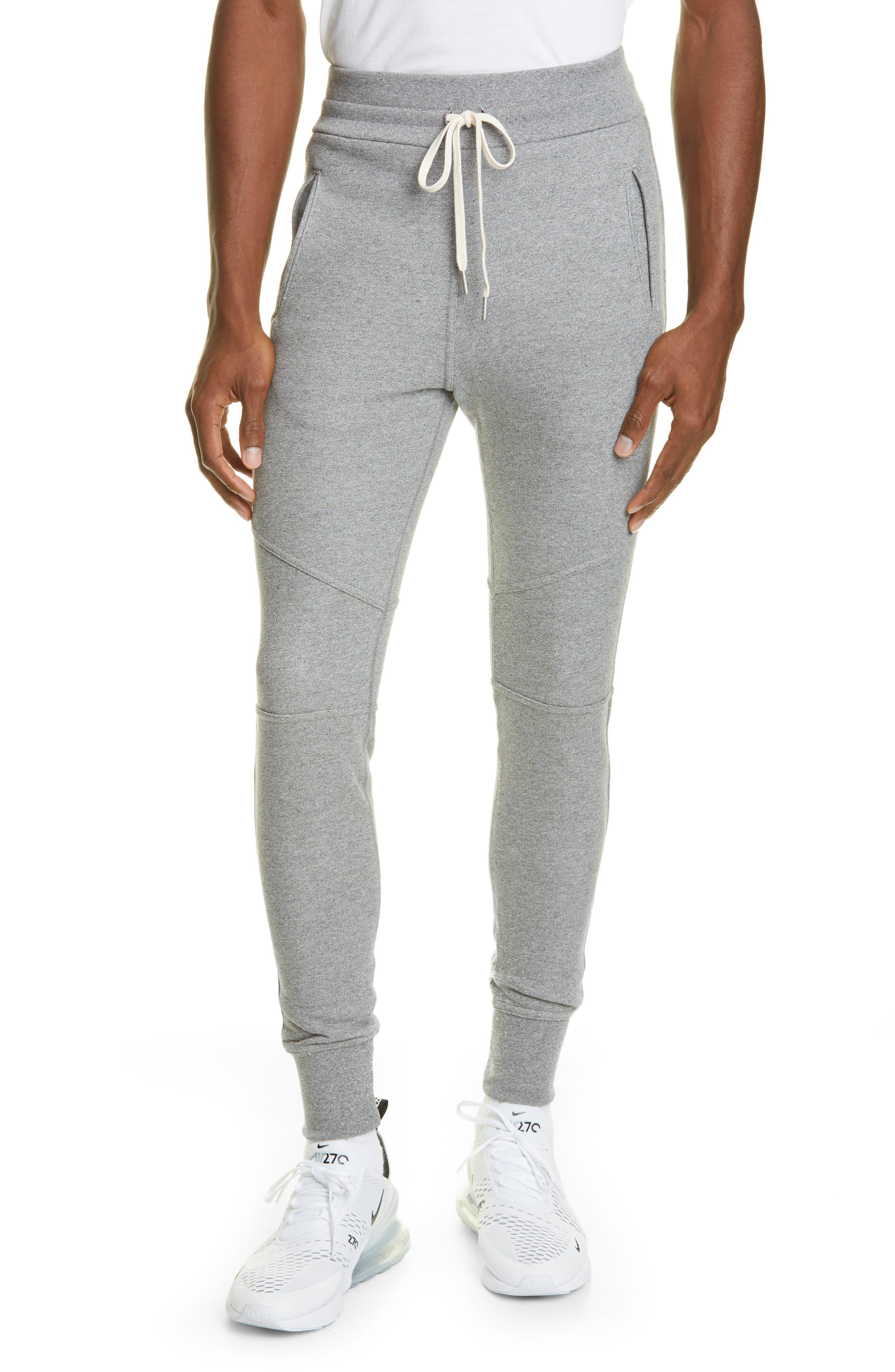 Men's John Elliott Escobar Slim Fit Sweatpants,  Large - Brown