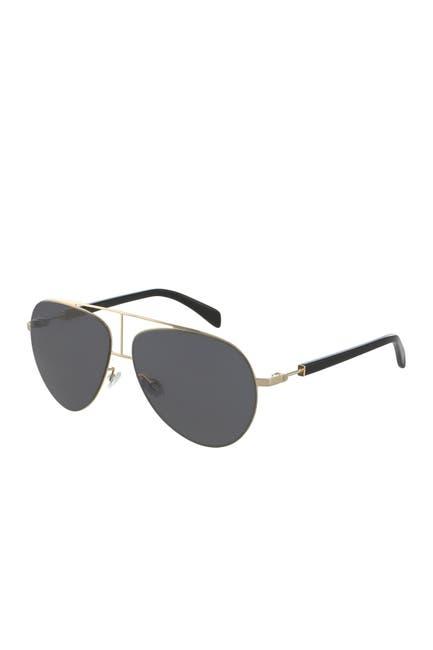 Image of Balmain 59mm Aviator Sunglasses