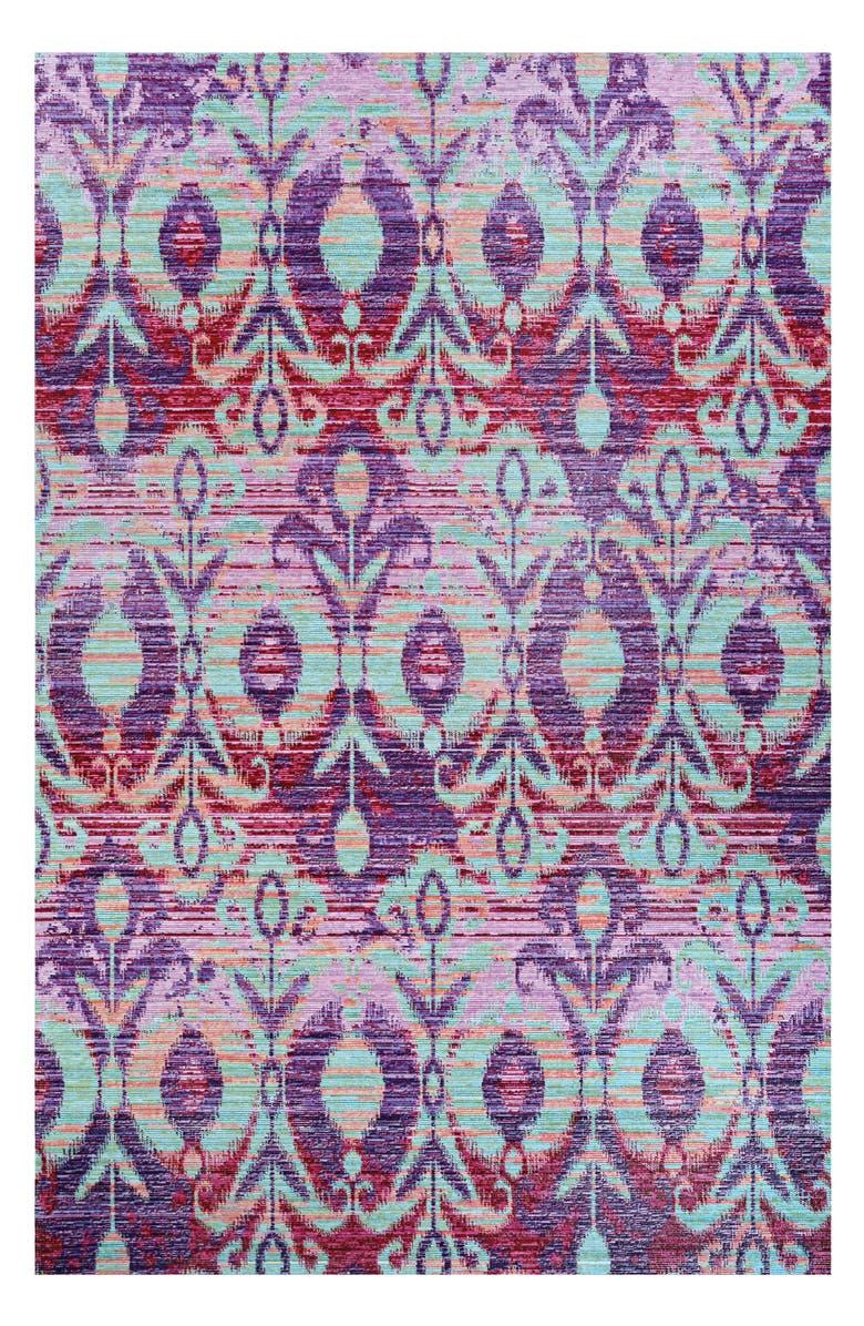COURISTAN Xanadu Toluca Indoor/Outdoor Rug, Main, color, IRIS