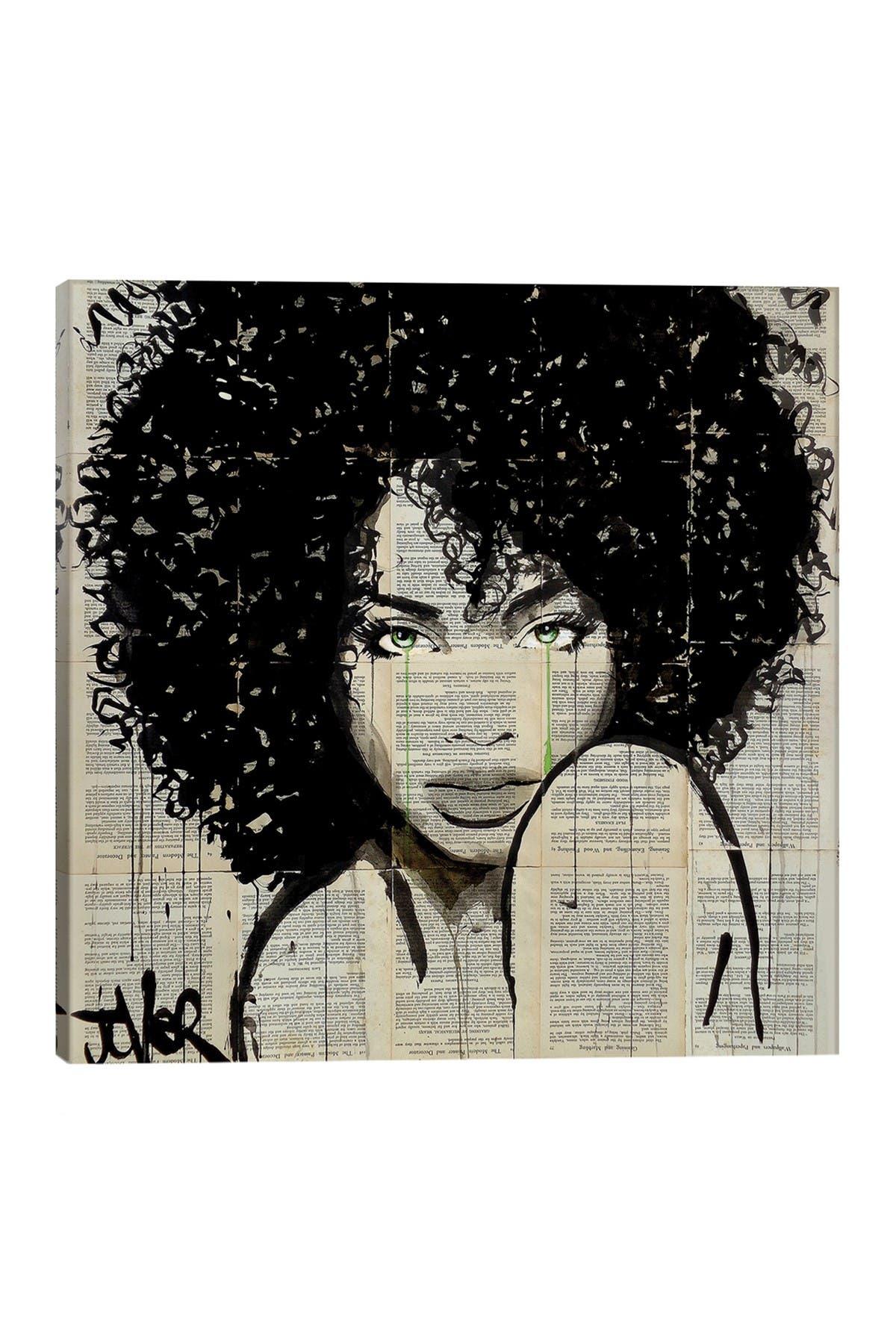 Image of iCanvas Angel by Loui Jover Wall Art