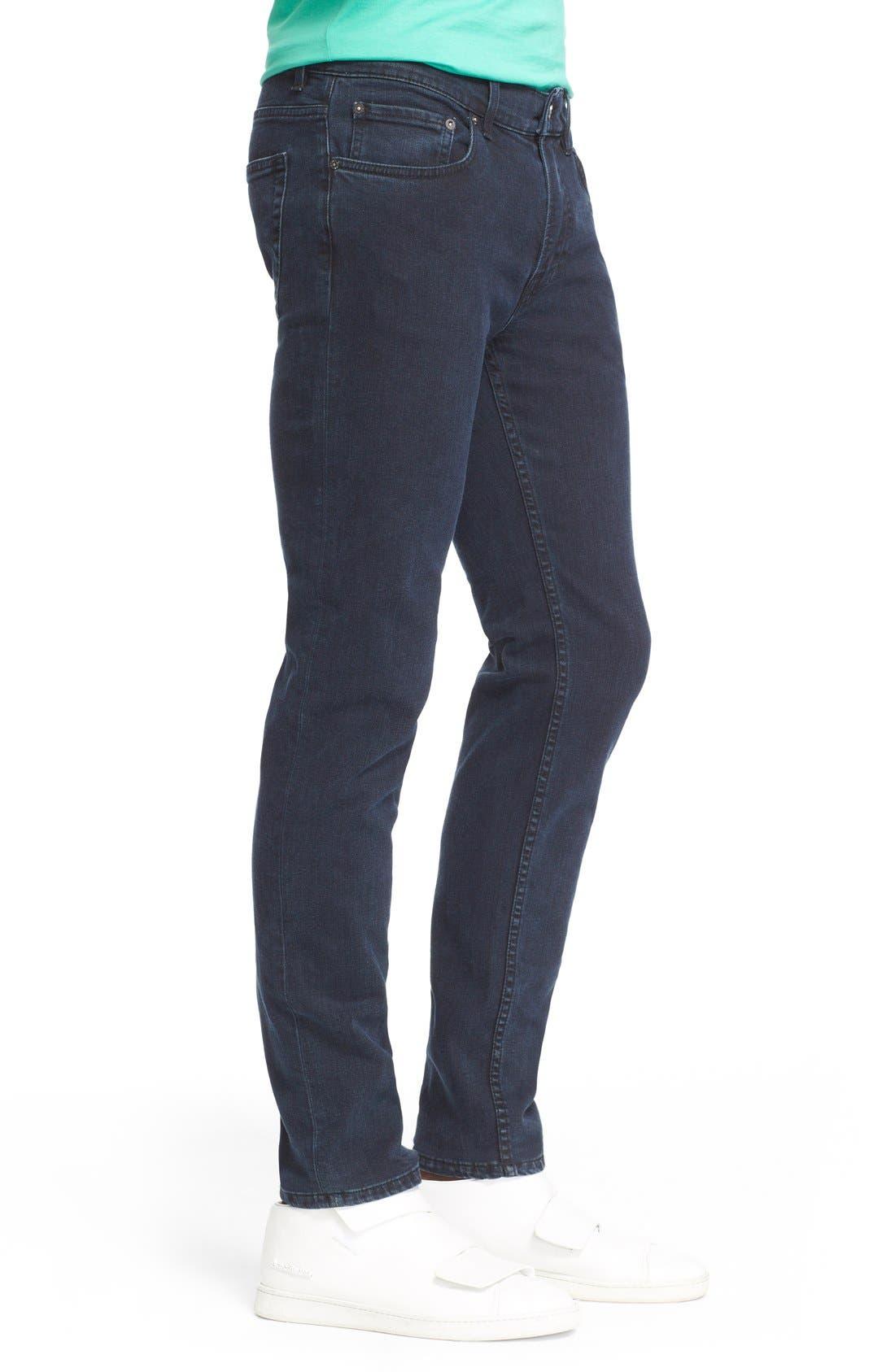 ,                             Slim Straight Leg Jeans,                             Alternate thumbnail 4, color,                             400