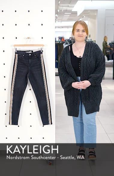 MOTO Stripe Skinny Jeans, sales video thumbnail