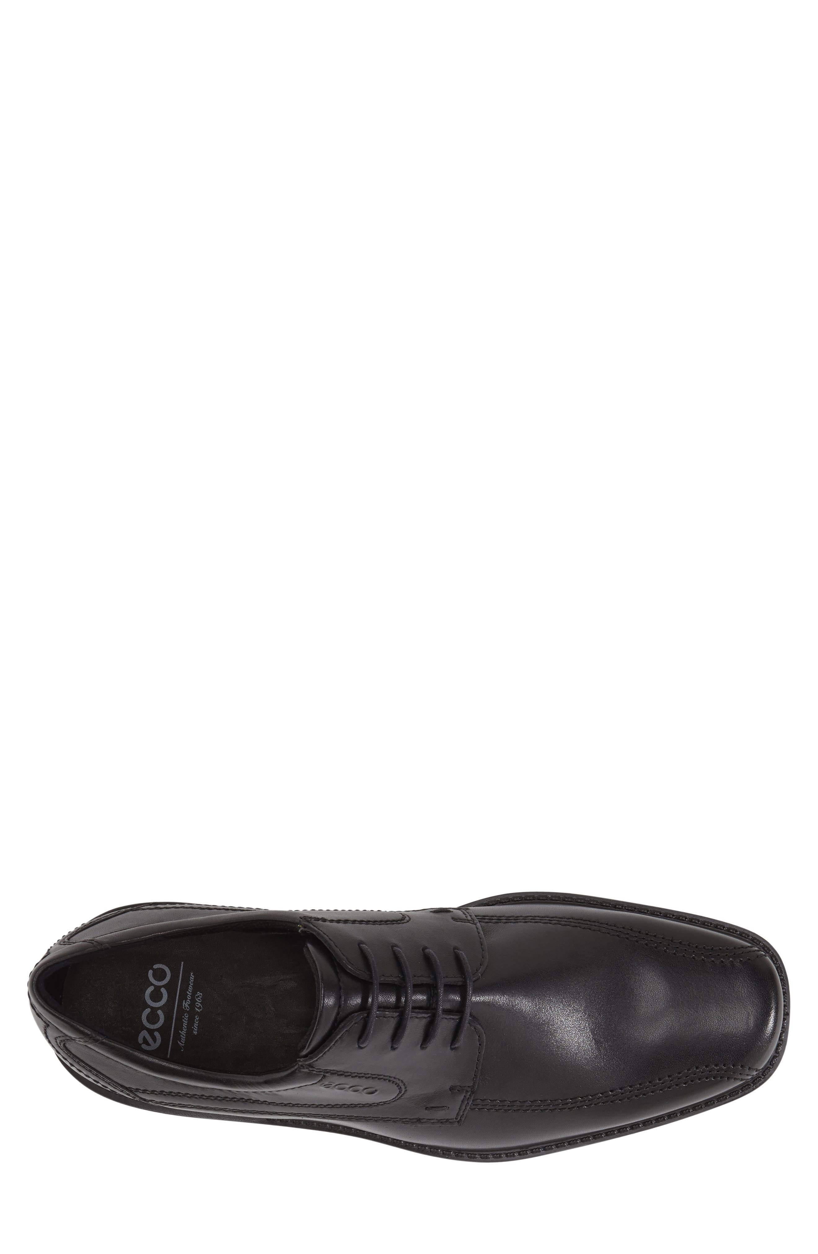 ,                             'New Jersey' Bicycle Toe Oxford,                             Alternate thumbnail 5, color,                             BLACK
