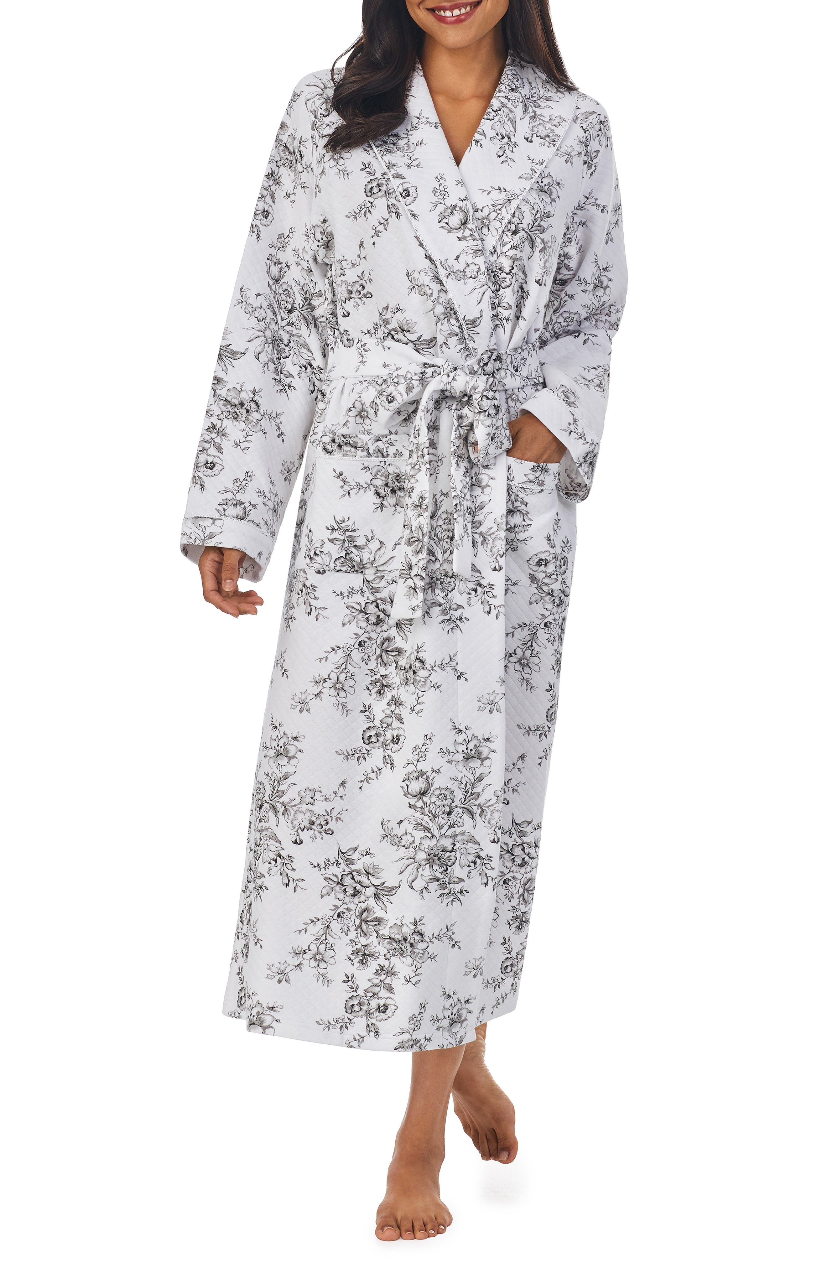 Long Sleeve Wrap Robe