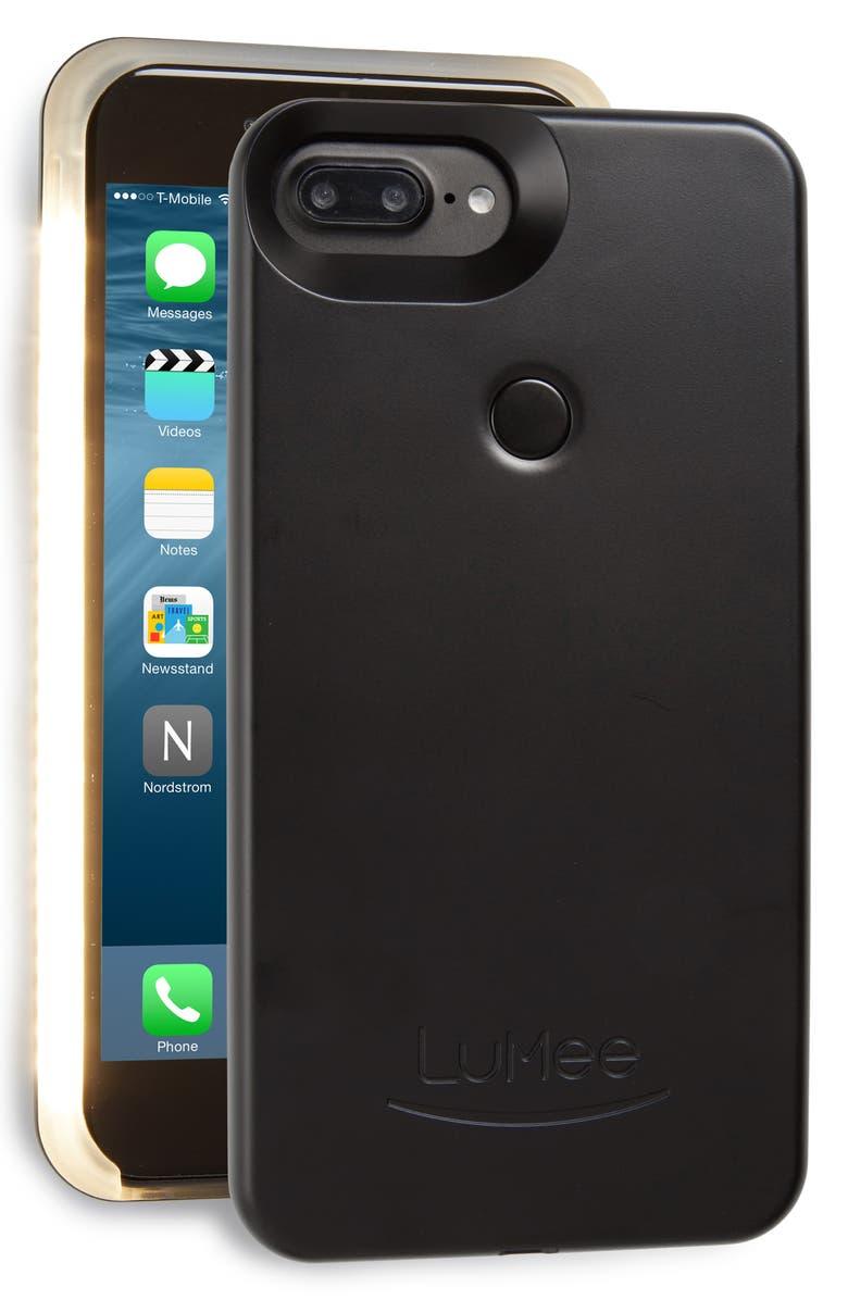 LUMEE II Lighted iPhone 6/7/8 & 6/7/8 Plus Case, Main, color, 001