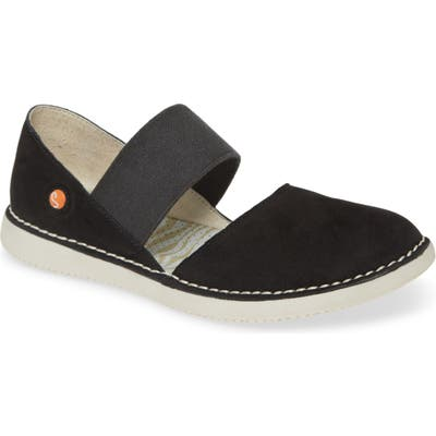 Softinos By Fly London Teja Flat, Black