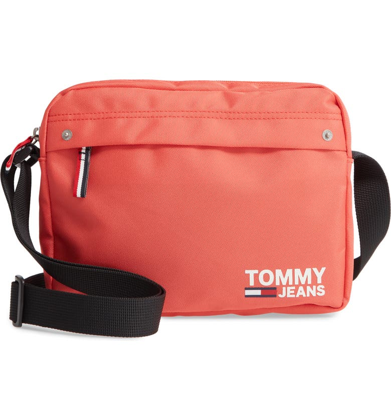 TOMMY JEANS Cool City Crossbody Bag, Main, color, EMBERGLOW