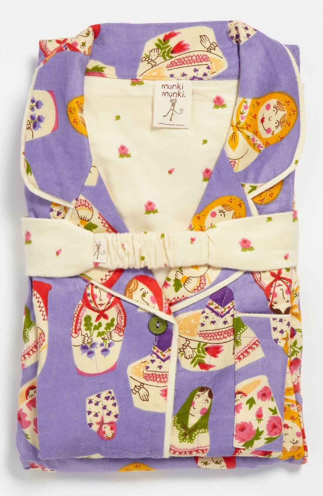 ,                             Flannel Pajamas,                             Alternate thumbnail 63, color,                             540