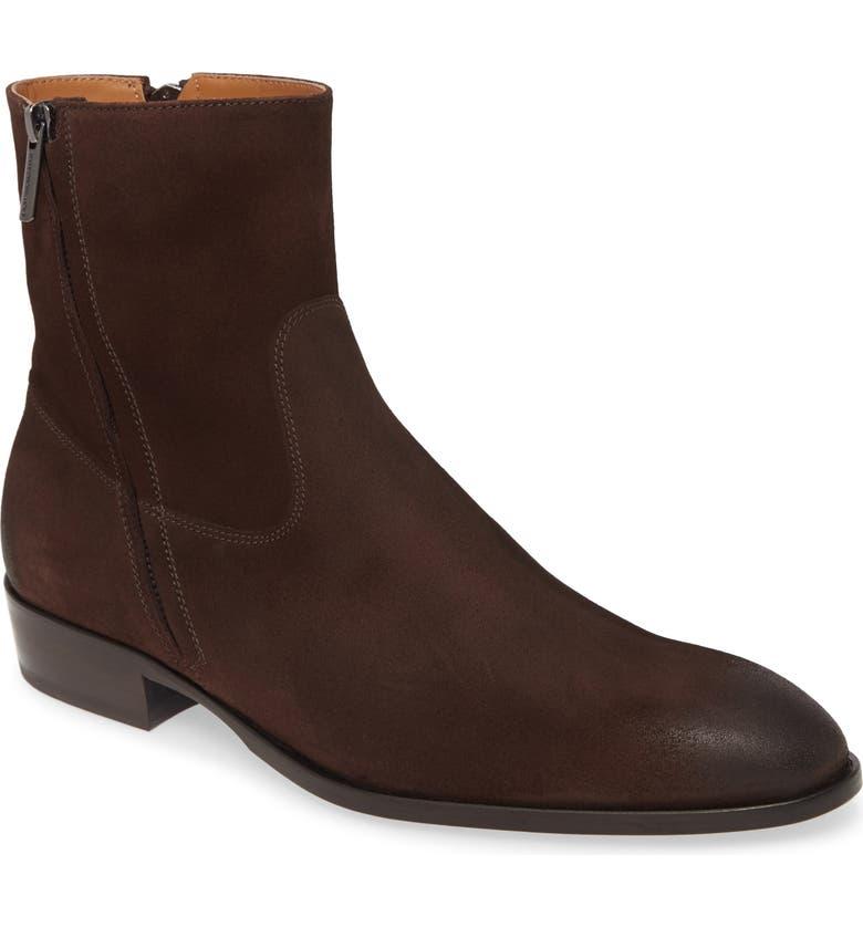 BRUNO MAGLI Risoli Zip Boot, Main, color, 200