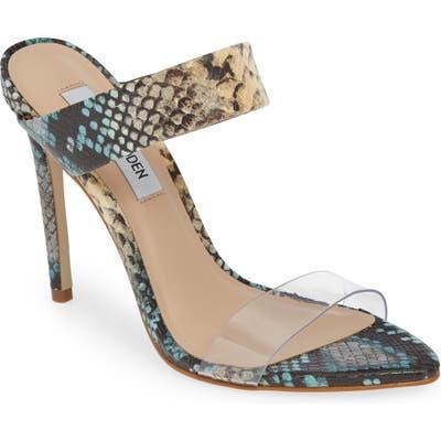 Steve Madden Amaya Clear Slide Sandal