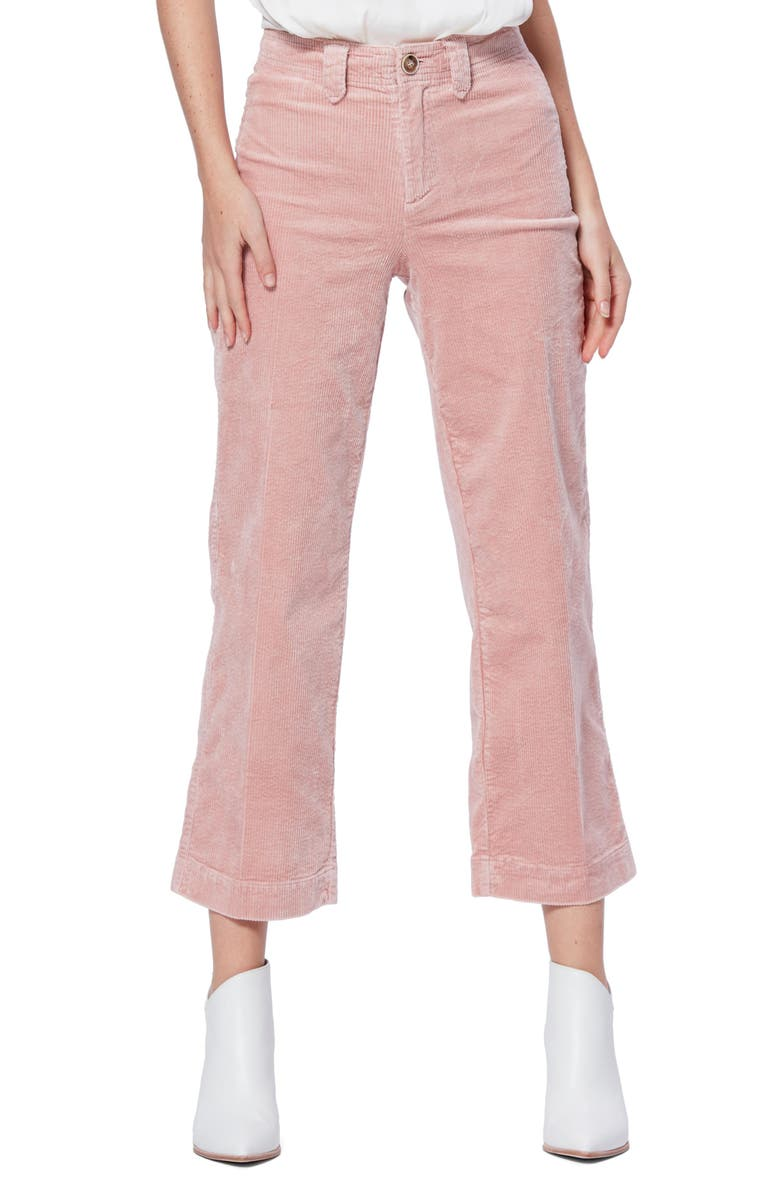 PAIGE Nellie Corduroy Cullotes, Main, color, BLUSH