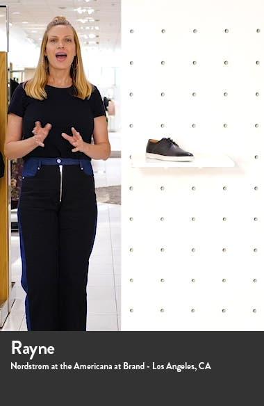 Durbin Derby Sneaker, sales video thumbnail