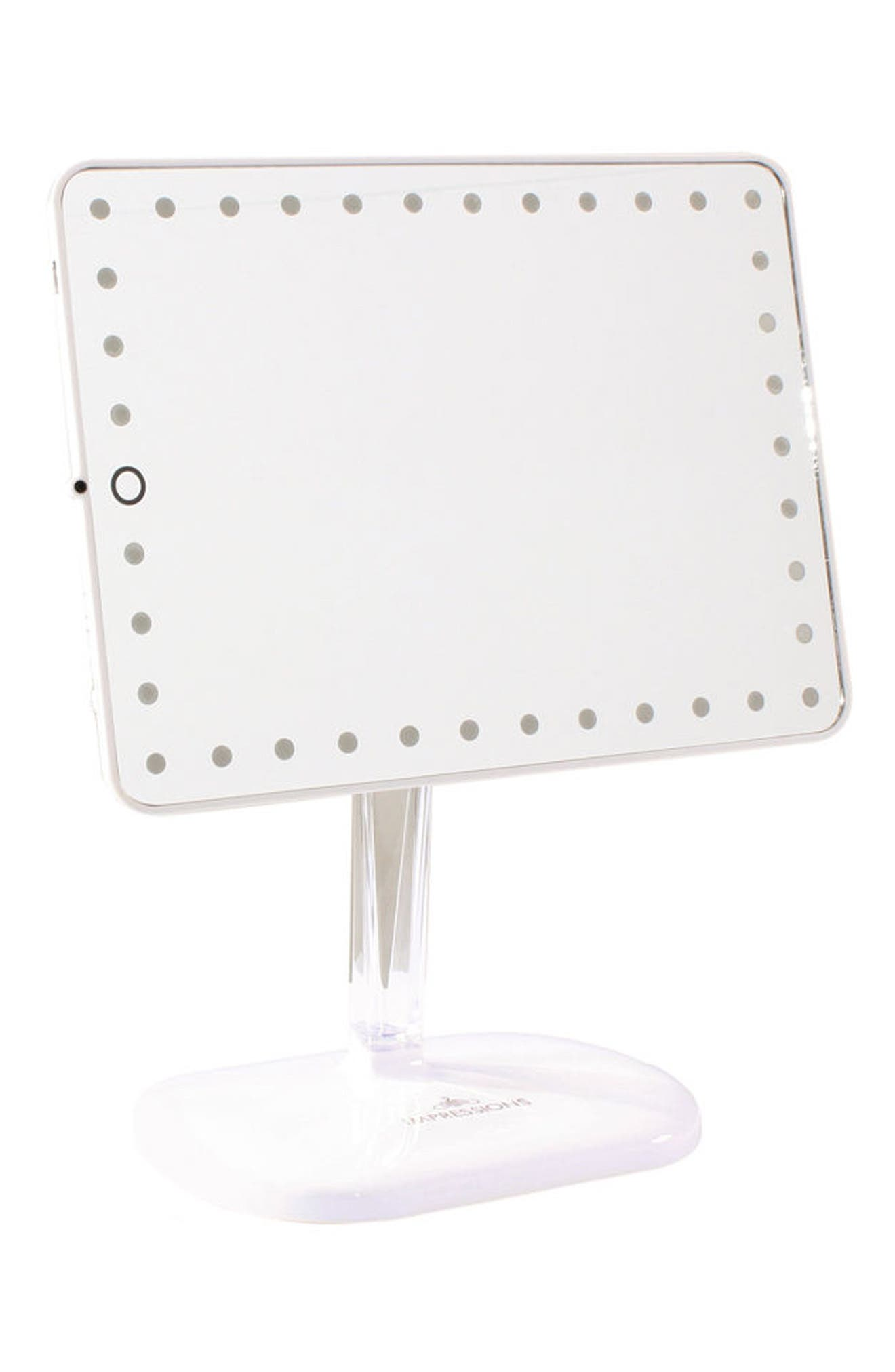 ,                             Bling Touch Pro LED Makeup Mirror with Bluetooth<sup>®</sup> Audio & Speakerphone,                             Alternate thumbnail 2, color,                             100