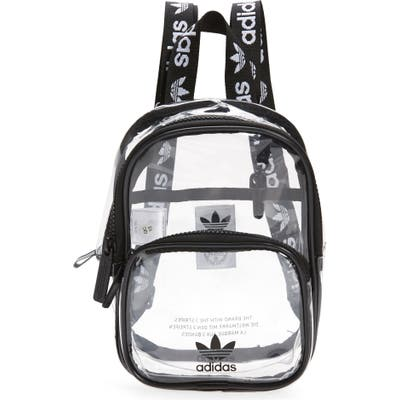 Adidas Originals Mini Clear Backpack - Black