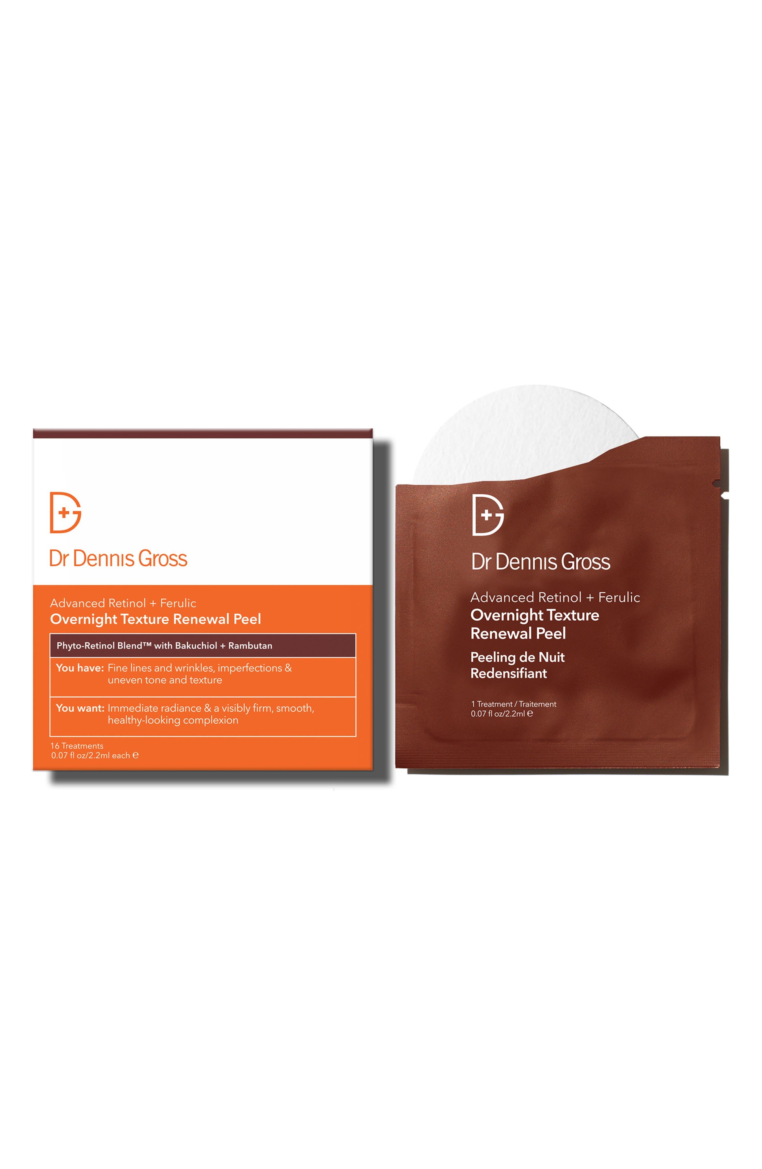 Skincare Advanced Retinol + Ferulic Overnight Texture Renewal Peel