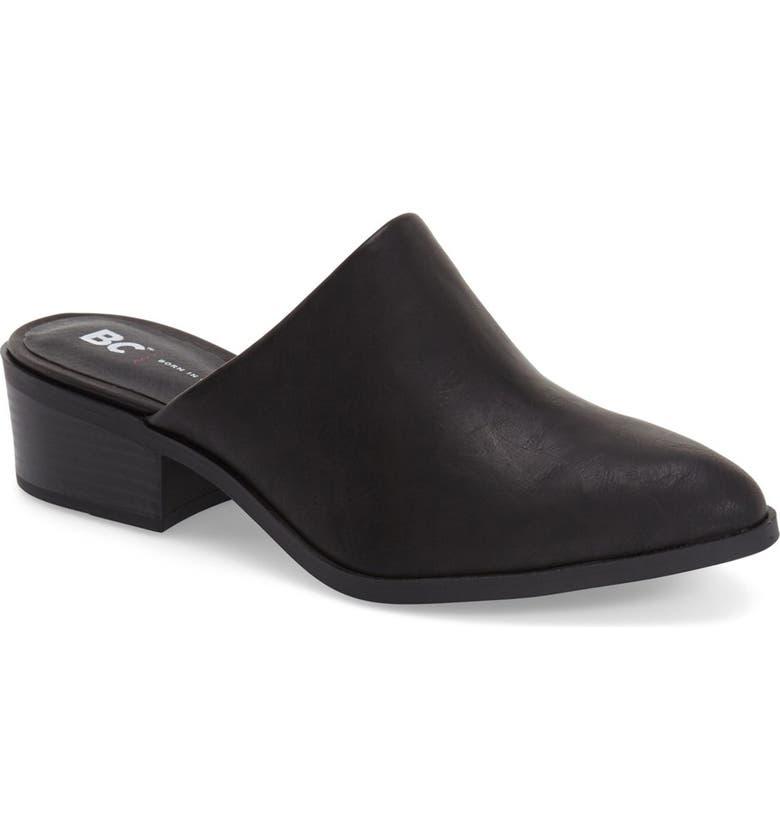 BC FOOTWEAR 'High Spirited' Slide Loafer, Main, color, 001