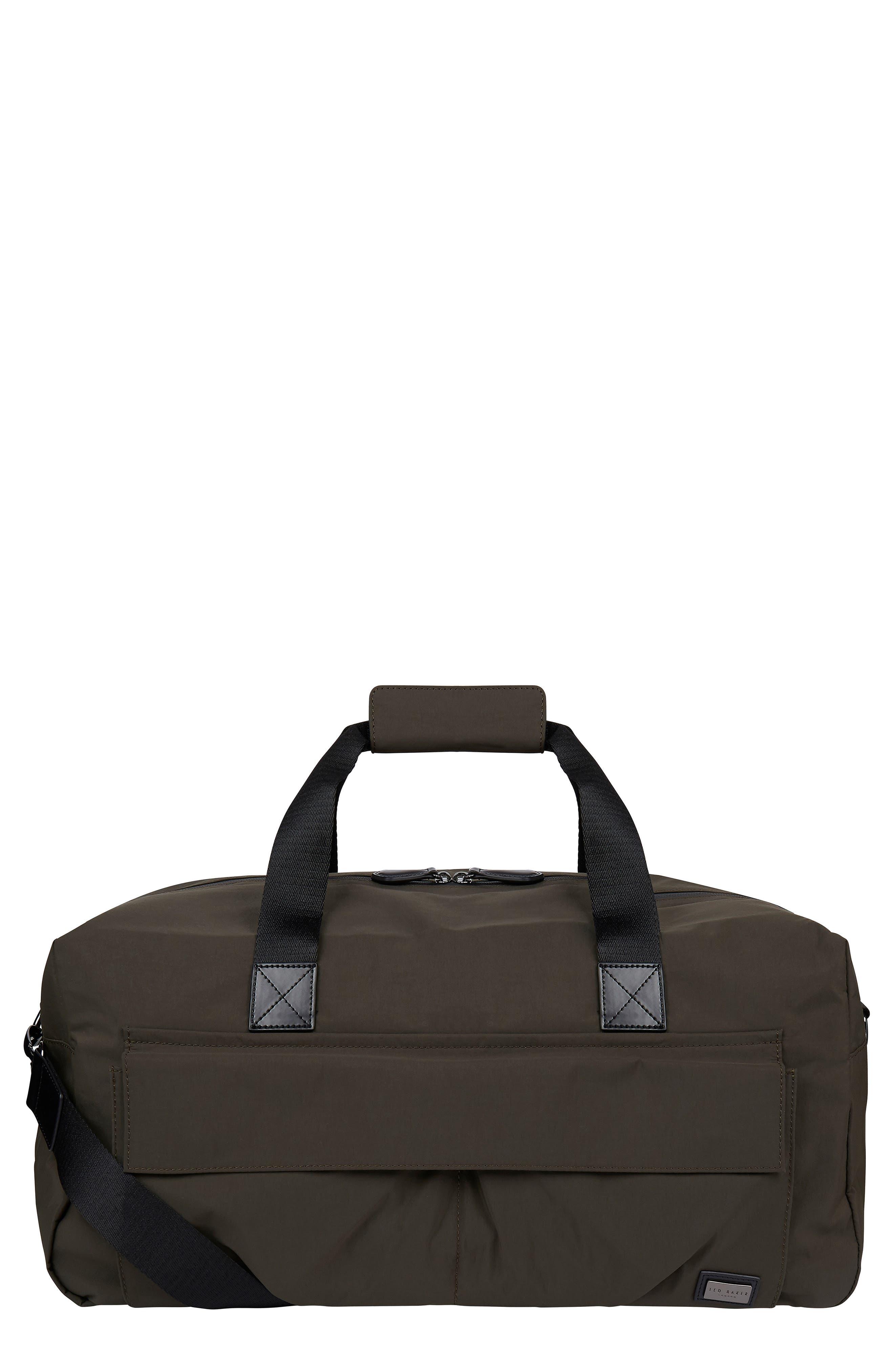 Nylon Holdall Duffle Bag