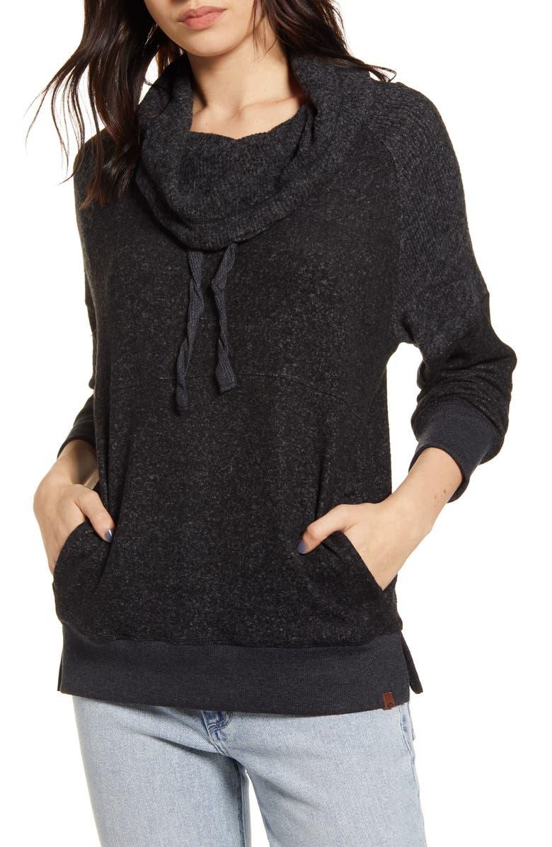 RIP CURL Cozy Fleece Sweatshirt, Main, color, 001