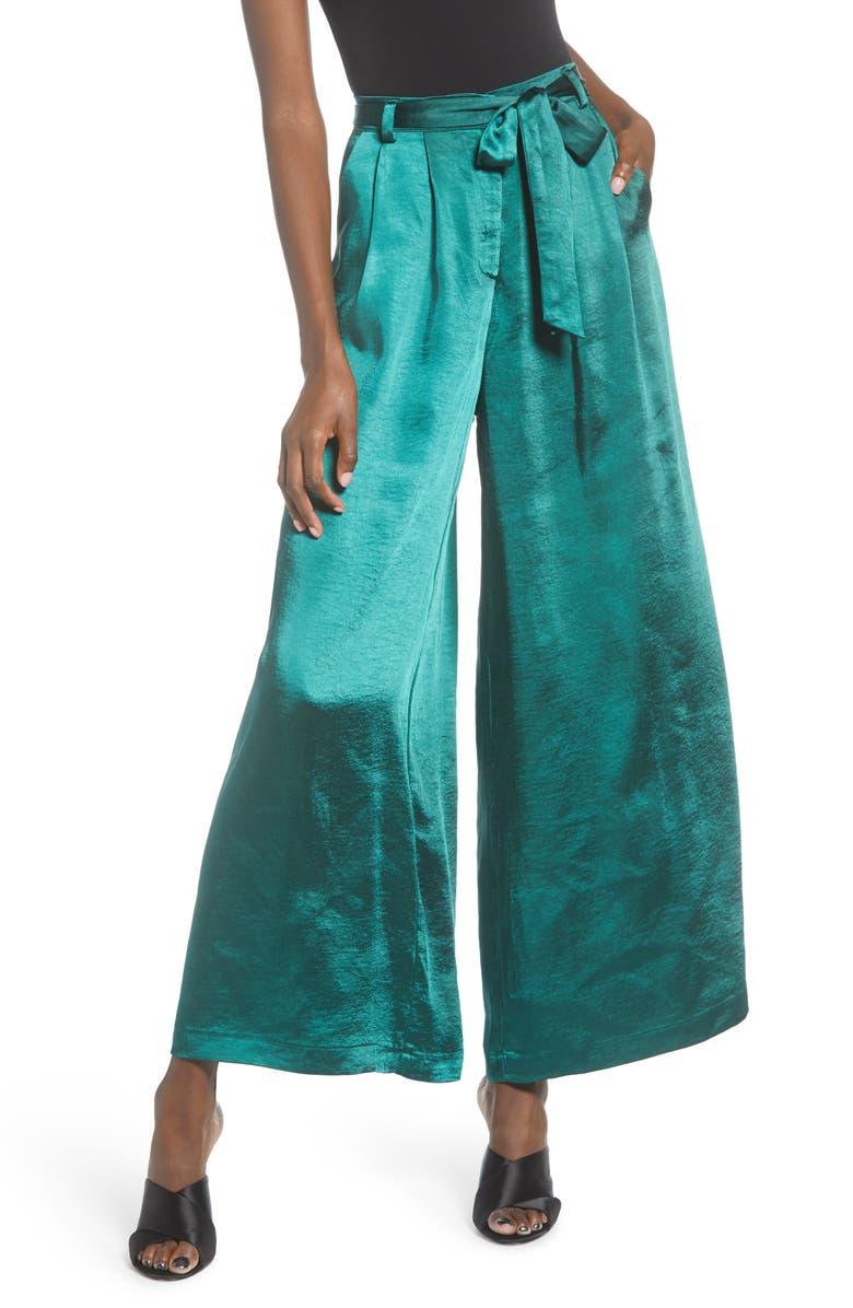 MINKPINK Freedom Lover Satin Pants, Main, color, 300