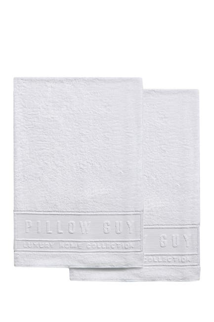 Image of Pillow Guy White Ultimate Hand Towel - Set of 2