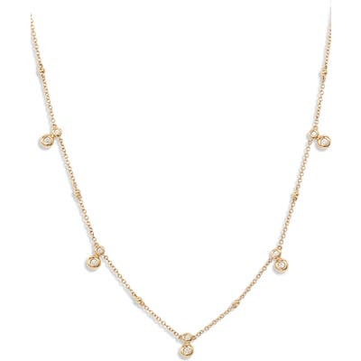Bony Levy Monaco Diamond Station Necklace (Nordstrom Exclusive)