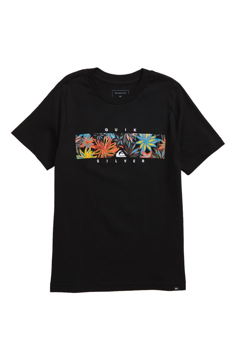 QUIKSILVER Box Heat T-Shirt, Main, color, 002