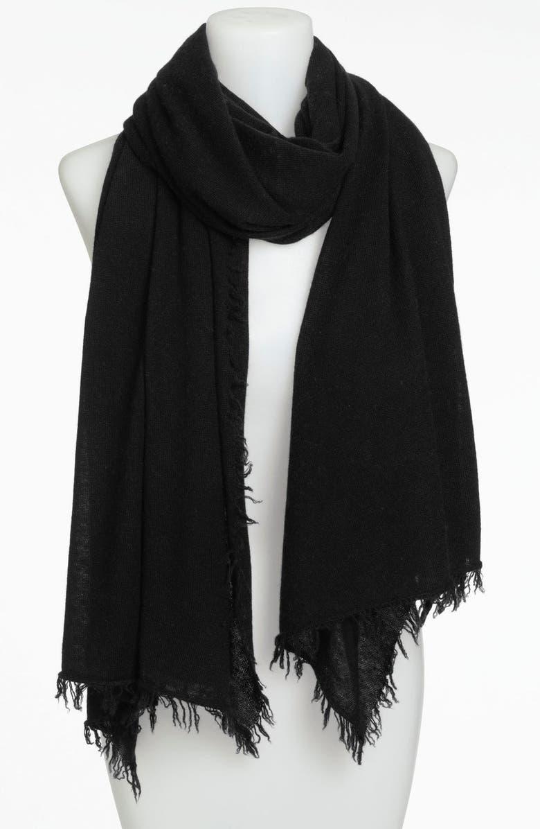 NORDSTROM COLLECTION Cashmere Wrap, Main, color, 001