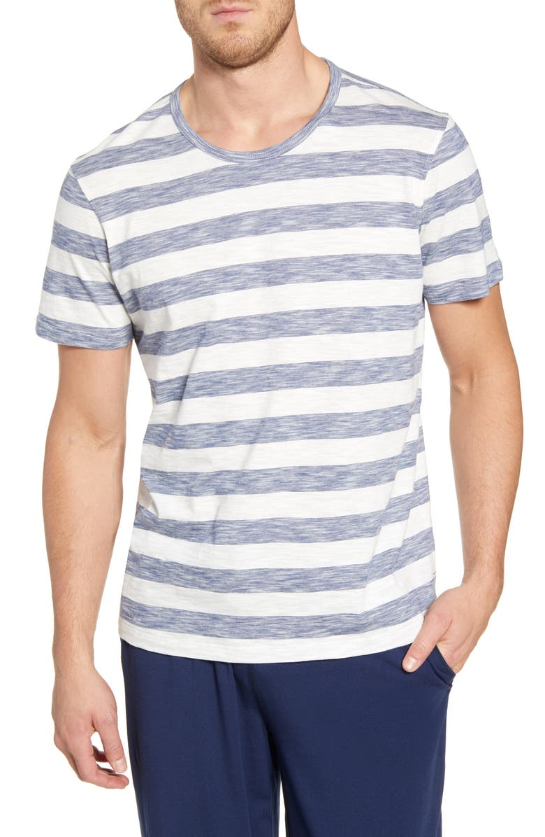 DANIEL BUCHLER Slub Cotton T-Shirt, Main, color, 476