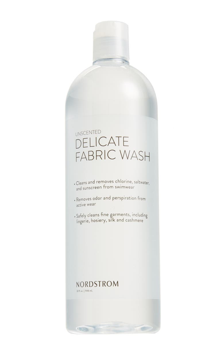 NORDSTROM 32 oz. Fragrance Free Fabric Wash, Main, color, CLEAR
