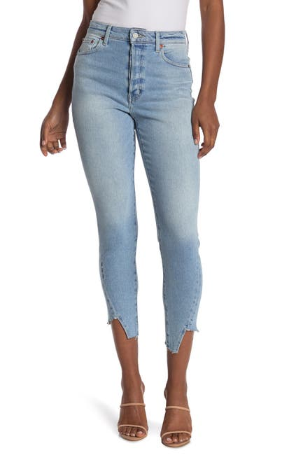 Image of ETICA Alex Ankle Raw Pieced Skinny Jeans