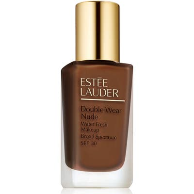 Estee Lauder Double Wear Nude Water Fresh Makeup Broad Spectrum Spf 30 - 7N1 Deep Amber