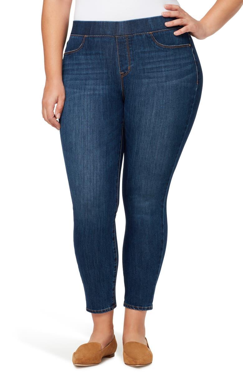 SANCTUARY Uplift Denim Leggings, Main, color, HILLSIDE