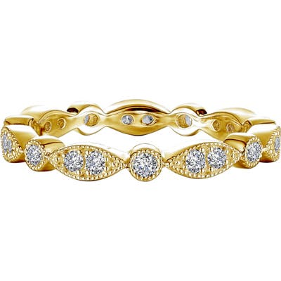 Lafonn Wave Simulated Diamond Eternity Band