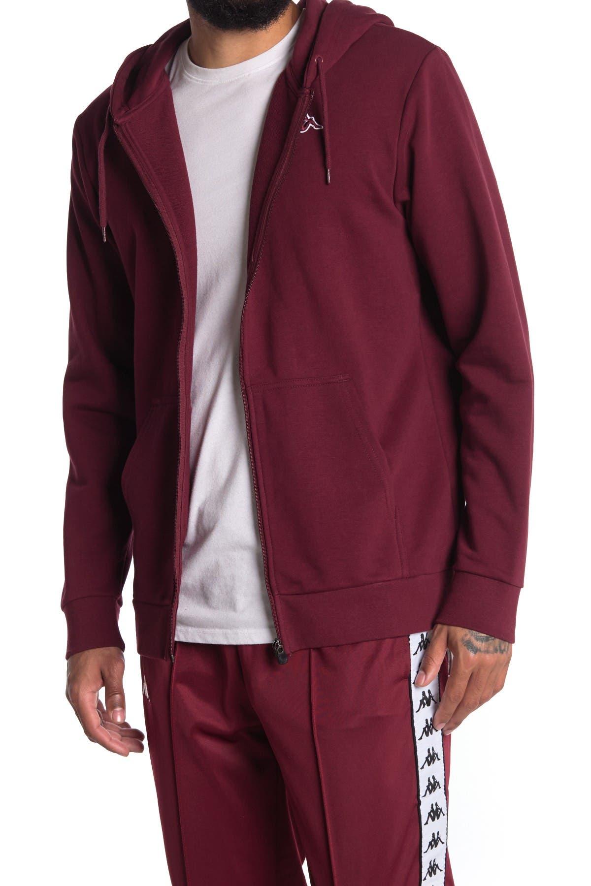 Image of Kappa Active Logo Jackok Zip Front Jacket