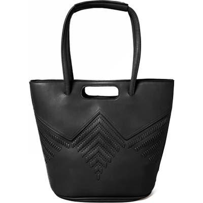 Urban Originals Style Vegan Leather Tote Bag - Black