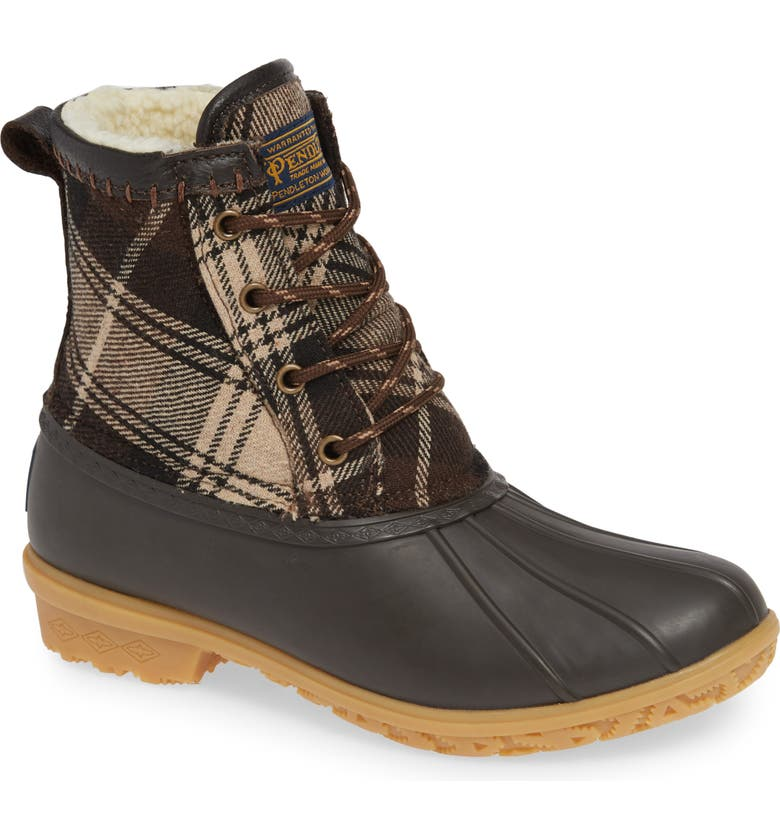 99d49dd1c Pendleton Heritage Plaid Duck Boot (Women) | Nordstrom
