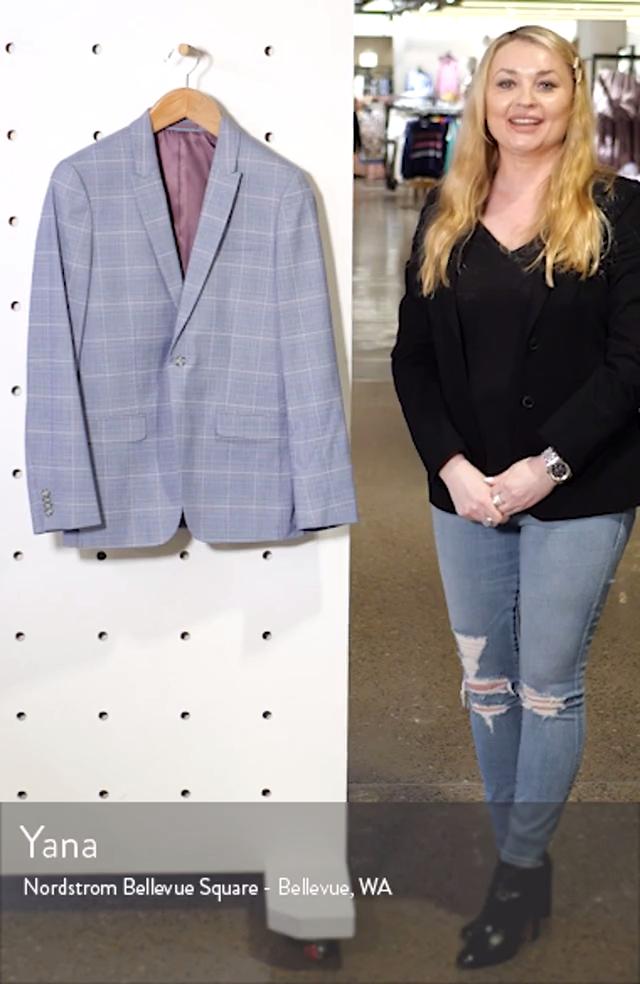 Skinny Fit Suit Jacket, sales video thumbnail